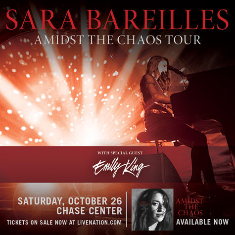 Sara Bareilles at The Chase Center