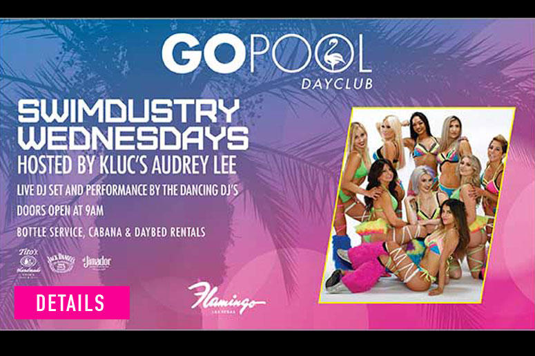 Swimdustry Wednesday's at the GO Pool Dayclub at the Flamingo Hotel & Casino