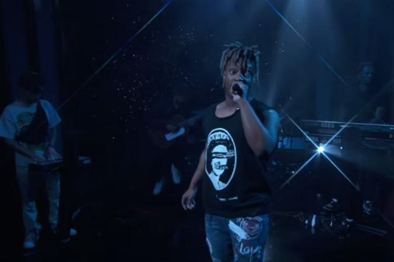 WATCH: Juice WRLD Turns 'Jimmy Kimmel Live' Into A Sad Guitar Hero