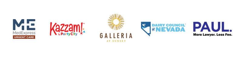 Backpacks Sponsor Logos