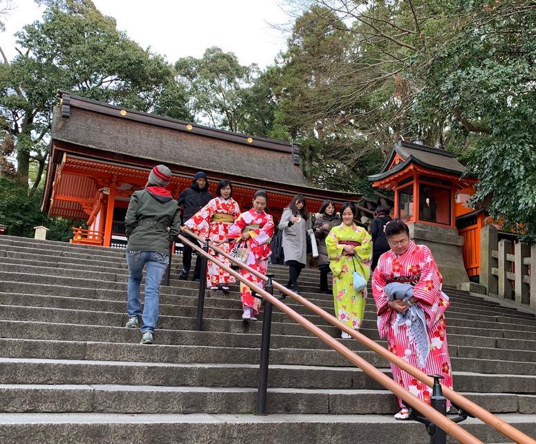 Steps at Mt. Inara