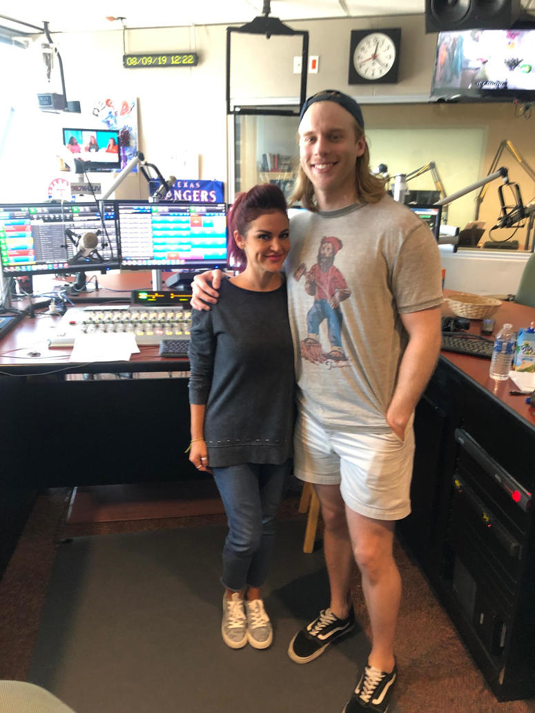 Sybil poses with Joshua Logan Alexander