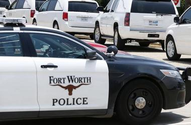 Ft Worth Police Car