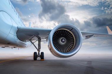 Airplane, Aircrafdt, Airfield, Modern, Cloudy