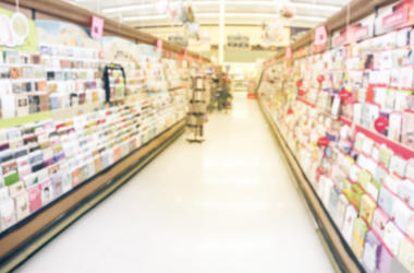 Birthday Cards, Store, Blurry, Display, Supermarket