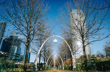 Dallas, Klyde Warren Park, Downtown Dallas
