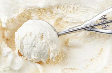 Ice Cream, Scooper, Vanilla