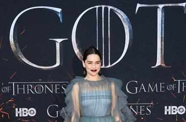 "NEW YORK, NEW YORK - APRIL 03: Emilia Clarke attends the ""Game Of Thrones"" Season 8 Premiere on April 03, 2019 in New York City"
