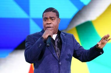 NEW YORK, NEW YORK - MAY 15: Tracy Morgan of TBS's The Last O.G speaks onstage during the WarnerMedia Upfront 2019 show at The Theater at Madison Square Garden on May 15, 2019 in New York City. 602140