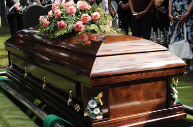 Funeral, Coffin, Flowers, Cemetery, Service