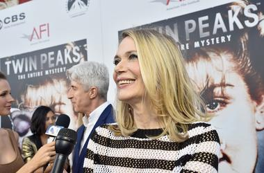 """LOS ANGELES, CA - JULY 16: Actress Peggy Lipton arrives to The American Film Institute Presents """"Twin Peaks-The Entire Mystery"""" Blu-Ray/DVD Release Screening at the Vista Theatre on July 16, 2014 in Los Angeles, California"""