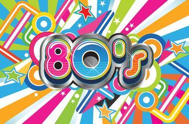 80's Retro Background Life Style. Vector Illustration