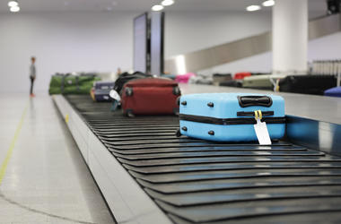 Luggage, Suitcase, Airport, Conveyer Belt