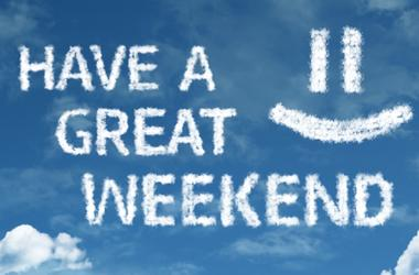 Have a Great Weekend cloud