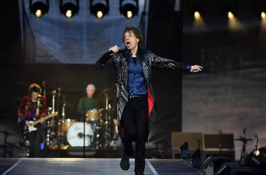 DUBLIN, IRELAND - MAY 17: Mick Jagger of The Rolling Stones performs live on stage on the opening night of the european leg of their No Filter tour at Croke Park on May 17, 2018 in Dublin, Ireland