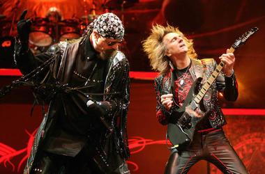 Rob Halford, Glenn Tipton, Judas Priest, Live, Concert, Sweden, 2009