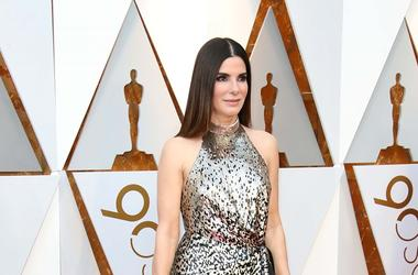 March 4, 2018; Hollywood, CA, USA; Sandra Bullock arrives at the 90th Academy Awards at Dolby Theatre