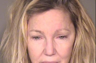 June 24, 2018; Ventura, CA, USA; Heather Locklear booking photo released by the Ventura County Sheriff s Office. Locklear was arrested on June 24 2018 at 11:30 p.m. and charged with two misdemeanor counts of Battery Upon An Officer And Emergency Personne