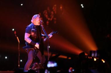 James Hetfield, Metallica, Singing, Concert, El Paso, Don Haskins Center, 2019