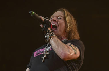 Axl Rose, Guns N' Roses, Singing, Concert, BB&T Center, 2016