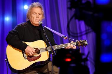 """Dec 13, 2016; Nashville, TN, USA; Don McLean performs at the pre-taping for the Dolly Parton s Smoky Mountains Rise: A Benefit for the My People Fund""""."""