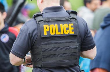 Police, Officer, Vest