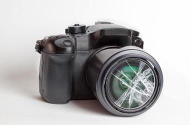 Destroyed Camera