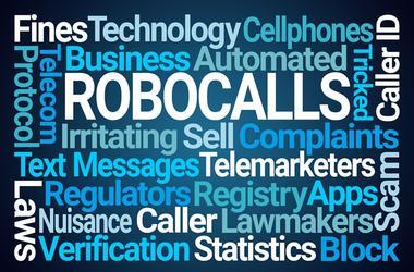 Robocalls Word Cloud