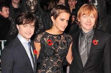 Daniel Radcliffe, Emma Watson, Rupert Grint, Red Carpet, Harry Potter And The Deathly Hallows: Part 1, 2010