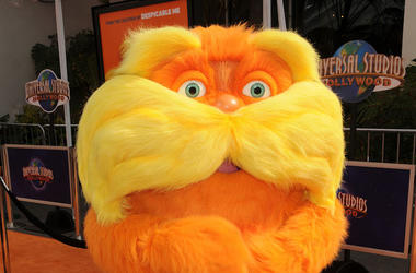 The Lorax, Red Carpet, Dr. Seuss, Costume, 2012, Movie Premiere