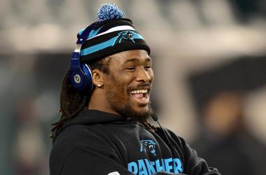 DeAngelo Williams, Carolina Panthers, Warmup, Game