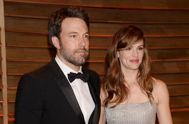 Ben Affleck and Jennifer Garner at 2014 Vanity Fair Oscar Party in West Hollywood, CA (March 2, 2014)