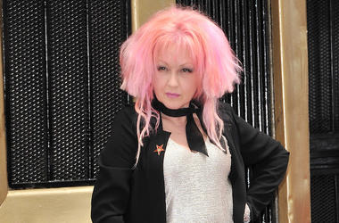 Cyndi Lauper, Pink Hair, Hollywood Walk of Fame, Ceremony, 2016