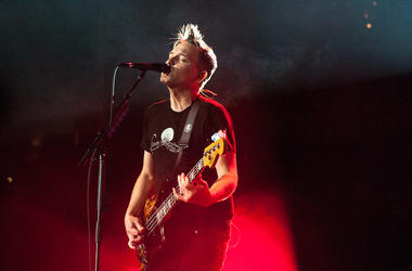 Mark Hoppus, Blink-182, Bass, Concert
