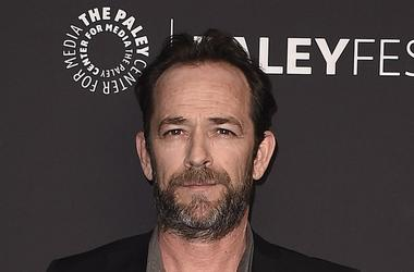"HOLLYWOOD, CA - MARCH 25: Luke Perry at PaleyFest 2018 - ""Riverdale"" at the Dolby Theatre on March 25, 2018 in Hollywood, California"