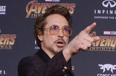 """Avengers"" Co-Star Robert Downey Jr."