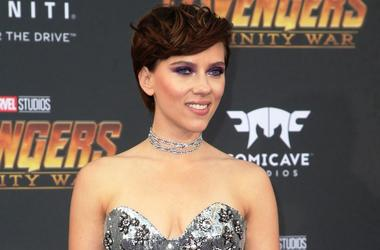"""23 April 2018 - Hollywood, California - Scarlett Johansson. Disney and Marvel's """"Avengers: Infinity War"""" Los Angeles Premiere held at Dolby Theater"""