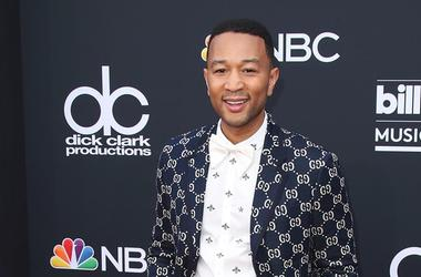 MAY 20: John Legend at the 2018 Billboard Music Awards at MGM Grand Garden Arena on May 20, 2018 in Las Vegas, Nevada