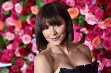 Katharine McPhee attends the 72nd Annual Tony Awards at Radio City Music Hall in New York, NY, on June 10, 2018