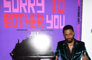 """Lakeith Standfield attends the """"Sorry To Bother You"""" Premiere during Opening Night of the 10th Annual BAMcinemaFest at the BAM Harvey Theatre in the New York City borough of Brooklyn, NY, on June 20, 2018."""