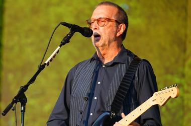 7/8/2018 - Eric Clapton performing live on the Great Oak stage at the 2018 British Summer Time Festival in Hyde Park in London. Photo date: Sunday, July 8, 2018