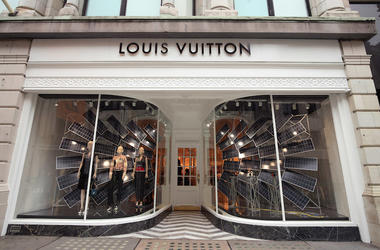 Louis Vuitton, Store, New Bond Street, London, 2018