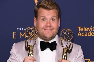 08 September 2018 - Los Angeles, California - James Corden. 2018 Creative Arts Emmys Awards - Press Room held at Microsoft Theater