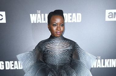 "Danai Gurira of ""The Walking Dead"""