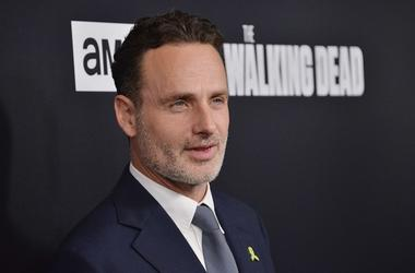 """Andrew Lincoln arrives at AMC's """"The Walking Dead"""" Season 9 Premiere held at the DGA in Los Angeles, CA on Thursday, September 27, 2018"""