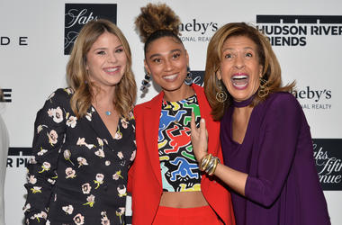 Jenna Bush Hager, Ally Love and Hoda Kotb