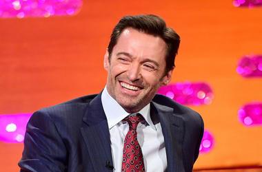Hugh Jackman, Smiling, Graham Norton Show, 2019