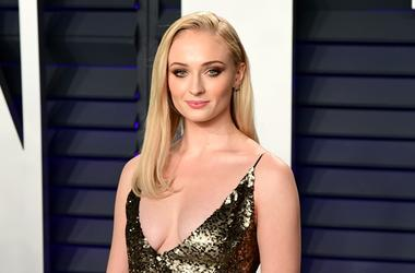 2/24/2019 - Sophie Turner attending the Vanity Fair Oscar Party held at the Wallis Annenberg Center for the Performing Arts in Beverly Hills, Los Angeles, California