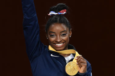 Simone Biles, Gold Medal, Women's All-Around Final, 2019 FIG Artistic Gymnastics World Championships