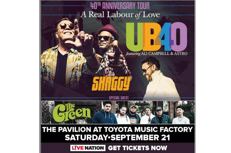 UB40 featuring Ali & Astro with Shaggy | 98 7 KLUV